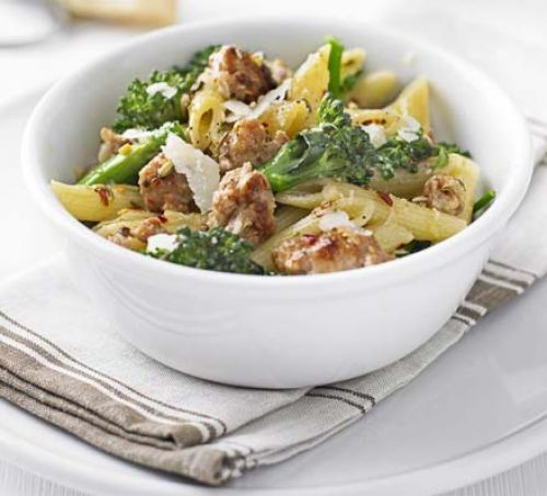 Sausage & Broccoli Pasta