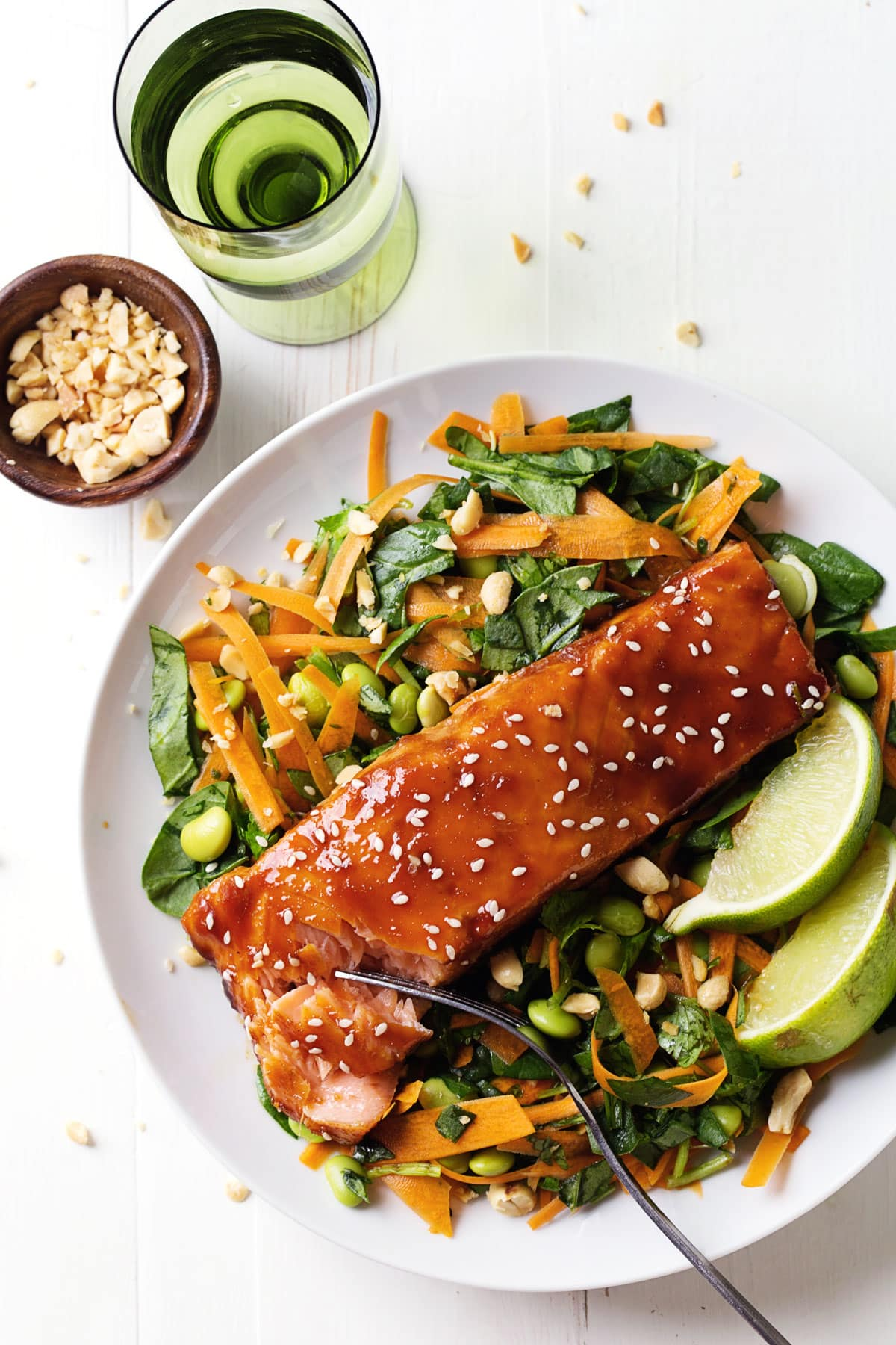 Simple Hoisin Glazed Salmon