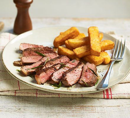 Simple Sirloin Steak