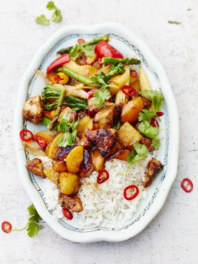 Tom Daley's sweet and sour chicken