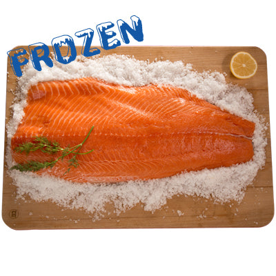 FROZEN Whole King Salmon Fillet approx. 900gm-1.1kg