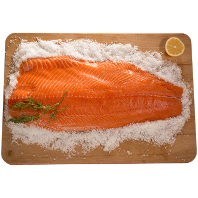 FRESH Whole King Salmon Fillet approx. 1.2-1.4kg