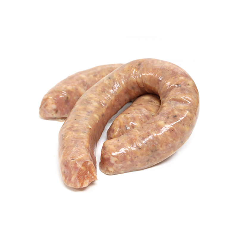 FROZEN Raw French Sausage (Toulouse) 2 x 170gm