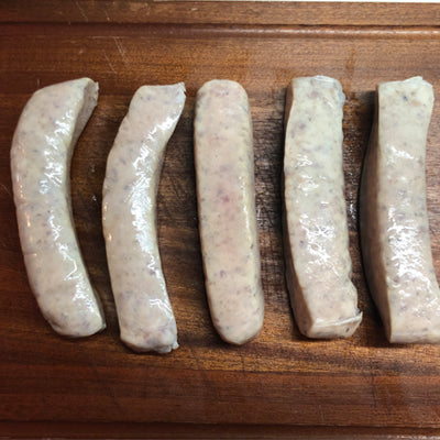 FROZEN Pork with Fennel Sausages - 500gm