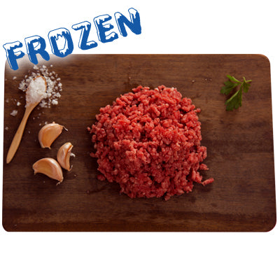 FROZEN 1 x 500gm Lean Mince Beef 100% grass fed