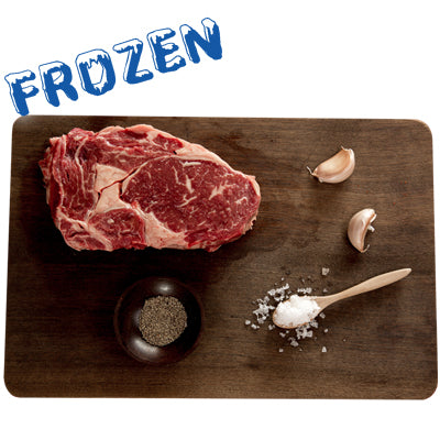 FROZEN 2 x 300gm Premium Rib Eye steak (Scotch fillet) 100% grass fed
