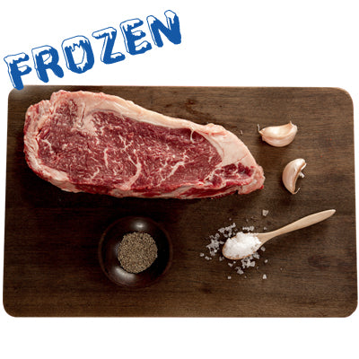 FROZEN 2 x 300gm Premium Sirloin steak 100% grass fed