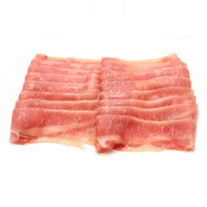 USA Pork Loin Shabu Shabu - 500gm tray