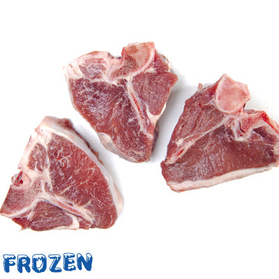 FROZEN 3 x 90-100gm Lamb Loin Chops - (270-300gm)