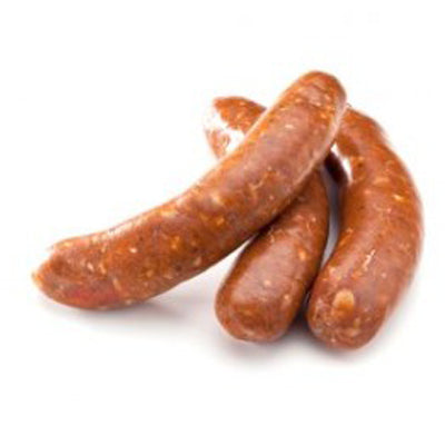 FROZEN Hot & Spicy Lamb Merguez (20x50gm) Sausage - 1kg