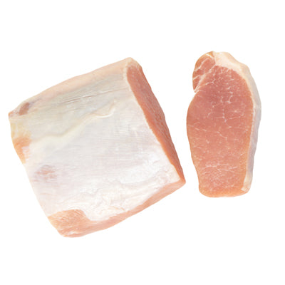 FROZEN 1.9-2.2kg Pork Mid Loin Fat On