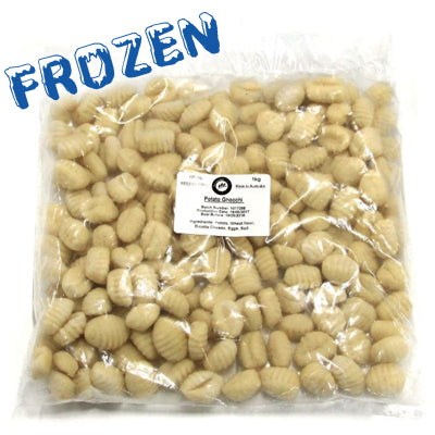FROZEN Potato Gnocchi (white) - 1kg bag