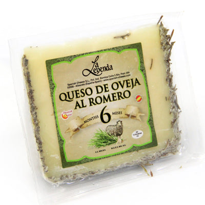 Queso Pure Sheep Milk aged with Rosemary Cheese - 200gm