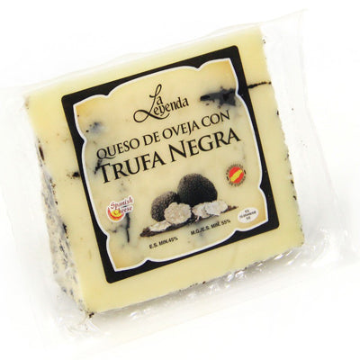 Queso Pure Sheep Milk Cured with Black Truffle Cheese - 200gm