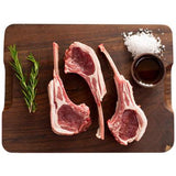 FROZEN 900-1.1kg - Rack of Lamb Frenched Fat On