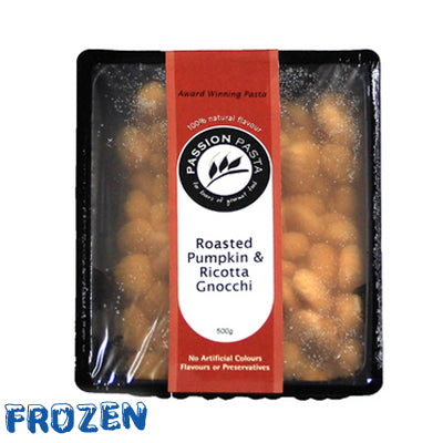 FROZEN Roasted Pumpkin & Ricotta Gnocchi 500gm