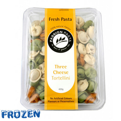 FROZEN Three Cheese Tortellini 420gm