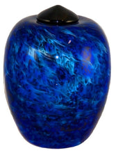 XL/Companion 400 Cubic In Florence Water Funeral Glass Cremation Urn for Ashes