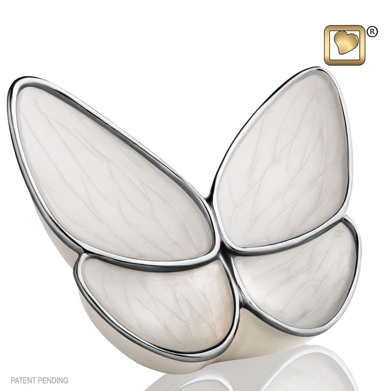 Butterfly Wings of Hope Adult Funeral Cremation Urn for Ashes, 175 Cubic Inches