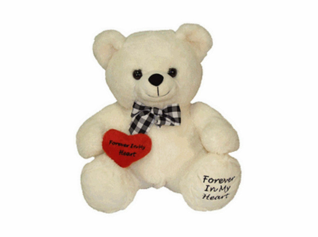 White Huggable Teddy Bear Infant/Child/Pet Funeral Cremation Urn,10 Cubic Inches
