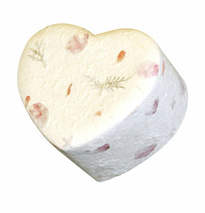 Biodegradable, Eco-Friendly Floral Heart Adult Cremation Urn, 200 Cubic Inches