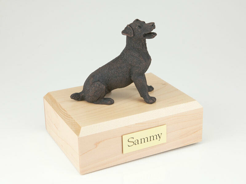 Jack Russell Terrier Bronze Pet Cremation Urn Available 3 Diff. Colors & 4 Size