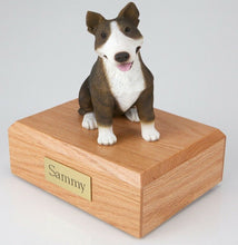 Load image into Gallery viewer, Bull Terrier Pet Funeral Cremation Urn Available in 3 Different Colors & 4 Sizes