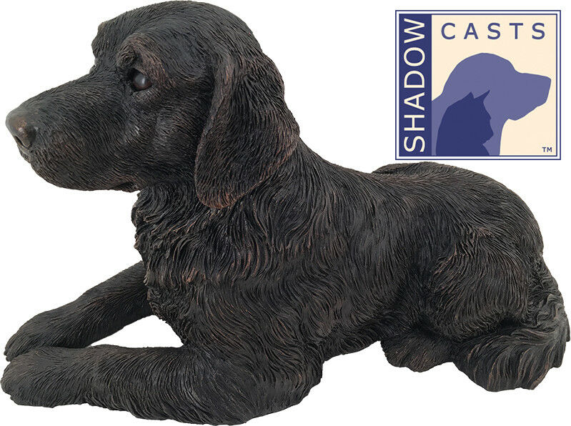 Large 115 Cubic Inches Golden Retriever ShadowCasts Bronze Urn for Ashes