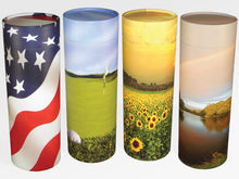 Load image into Gallery viewer, Biodegradable, Eco Friendly Adult Ash Scattering Tube Cremation Urn