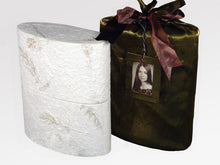 Load image into Gallery viewer, Biodegradable, Eco-Friendly Adult Funeral Cremation Urn, 210 Cubic Inches