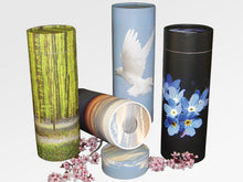Load image into Gallery viewer, Biodegradable Eco-Friendly Adult Scattering Tube Cremation Urn, 200 Cubic Inches
