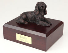 Load image into Gallery viewer, King Charles Spaniel Bronze Pet Cremation Urn Available 3 Diff Colors & 4 Sizes
