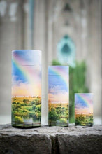 Load image into Gallery viewer, Small/Keepsake 90 Cubic In. Rainbow Scattering Tube Cremation Urn for Ashes