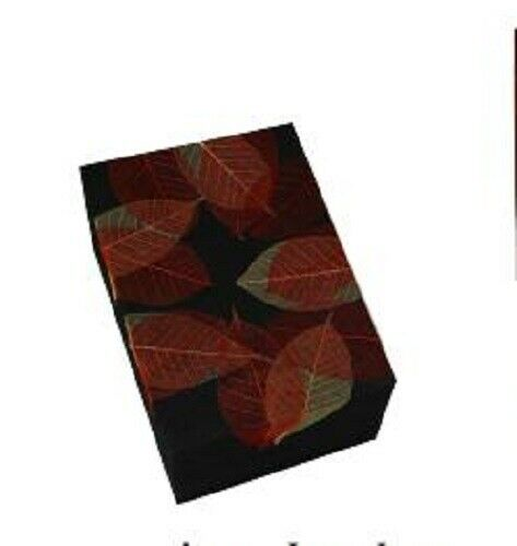 Autumn Leaves Insert for Mahogany Biodegradable Memory Chest Cremation Urn