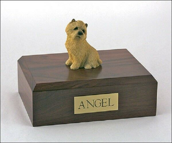 Cairn Terrier Pet Funeral Cremation Urn Available 3 Different Colors & 4 Sizes