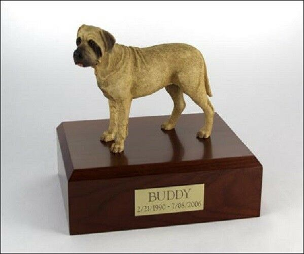Bull Mastiff Pet Funeral Cremation Urn Available in 3 Different Colors 4 Sizes