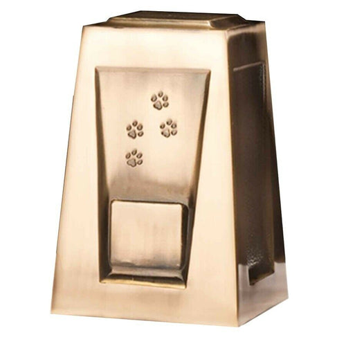 Large/Adult 205 Cubic Inch Olympus Paw Prints Funeral Cremation Urn for Ashes