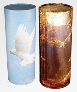 Biodegradable Adult Scattering Tube Cremation Urn-CAN Be Personalized