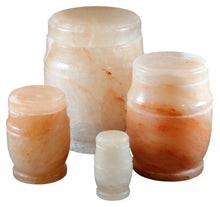 Load image into Gallery viewer, Biodegradable, Eco-Friendly Salt Adult Funeral Cremation Urn, 220 Cubic Inches