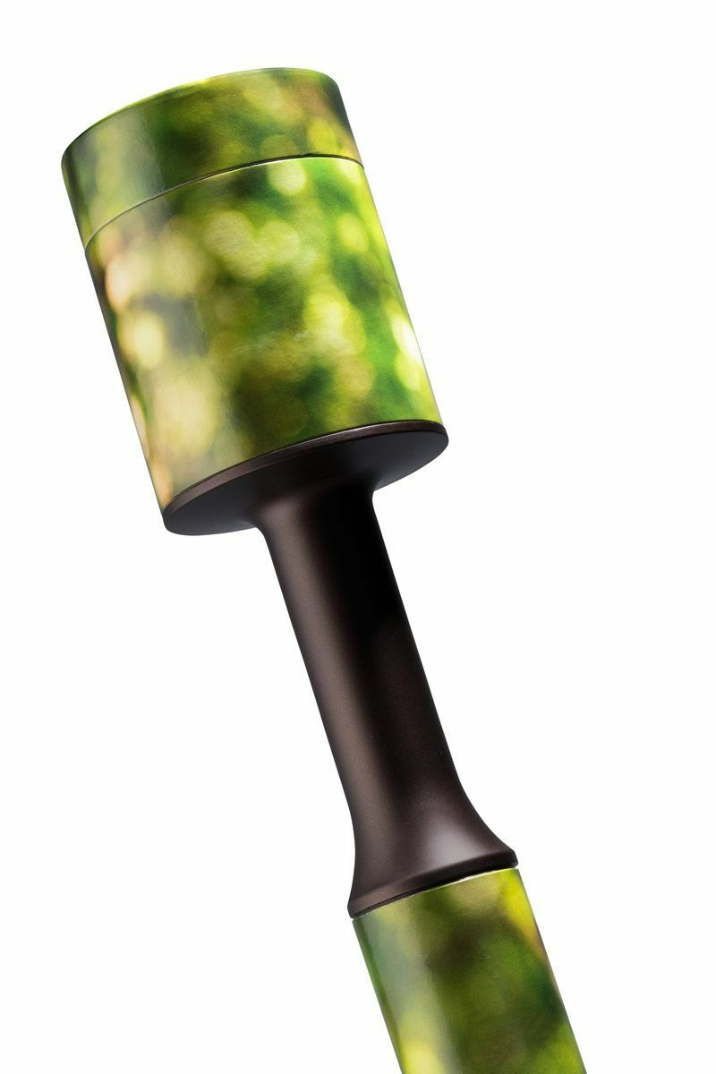 Large/Adult 200 Cubic Inch Green Walking Stick Scattering Tube Cremation Urn