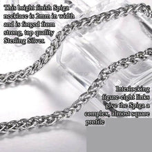 Sterling Silver Gator Skin Funeral Cremation Urn Pendant for Ashes w/Chain