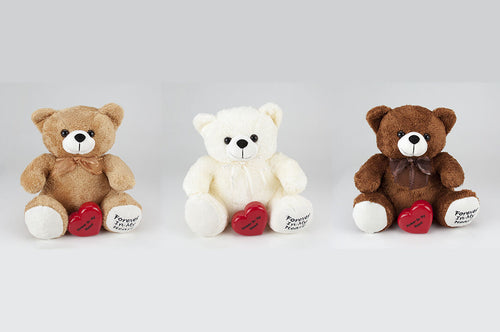 Set of 3 Huggable Teddy Bear Infant/Child/Pet Funeral Cremation Urns, 10 Cu. In.
