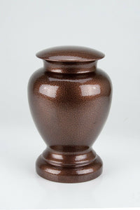 Large/Adult 130 Cubic Inches Copper Steel Vase Urn for Cremation Ashes