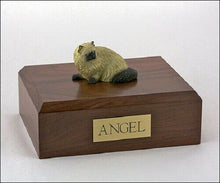 Himalayan Cat Figurine Pet Cremation Urn Available in 3 Different Colors 4 Sizes