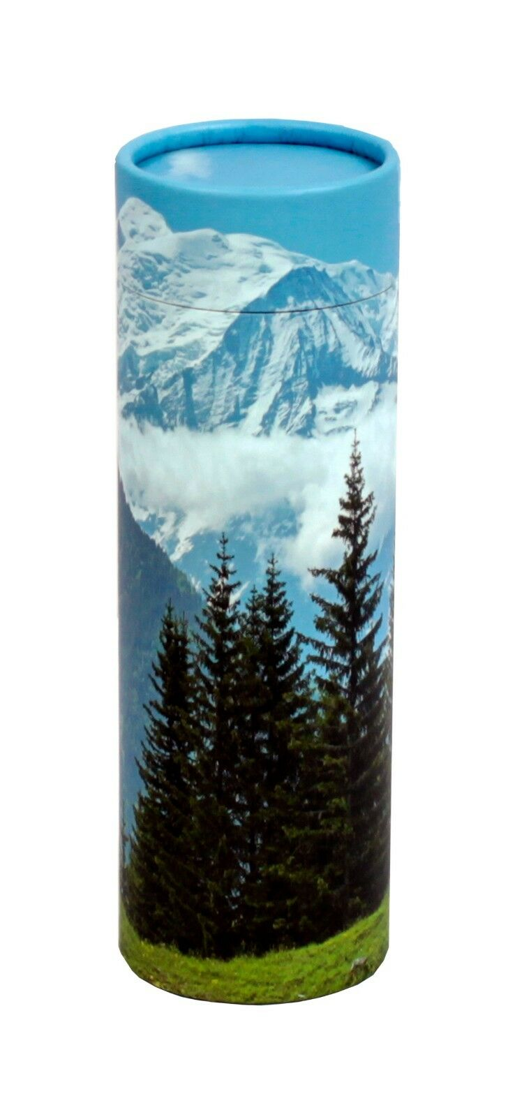 Biodegradable Ash Scattering Tube Funeral Cremation Urn - 40 cubic inches