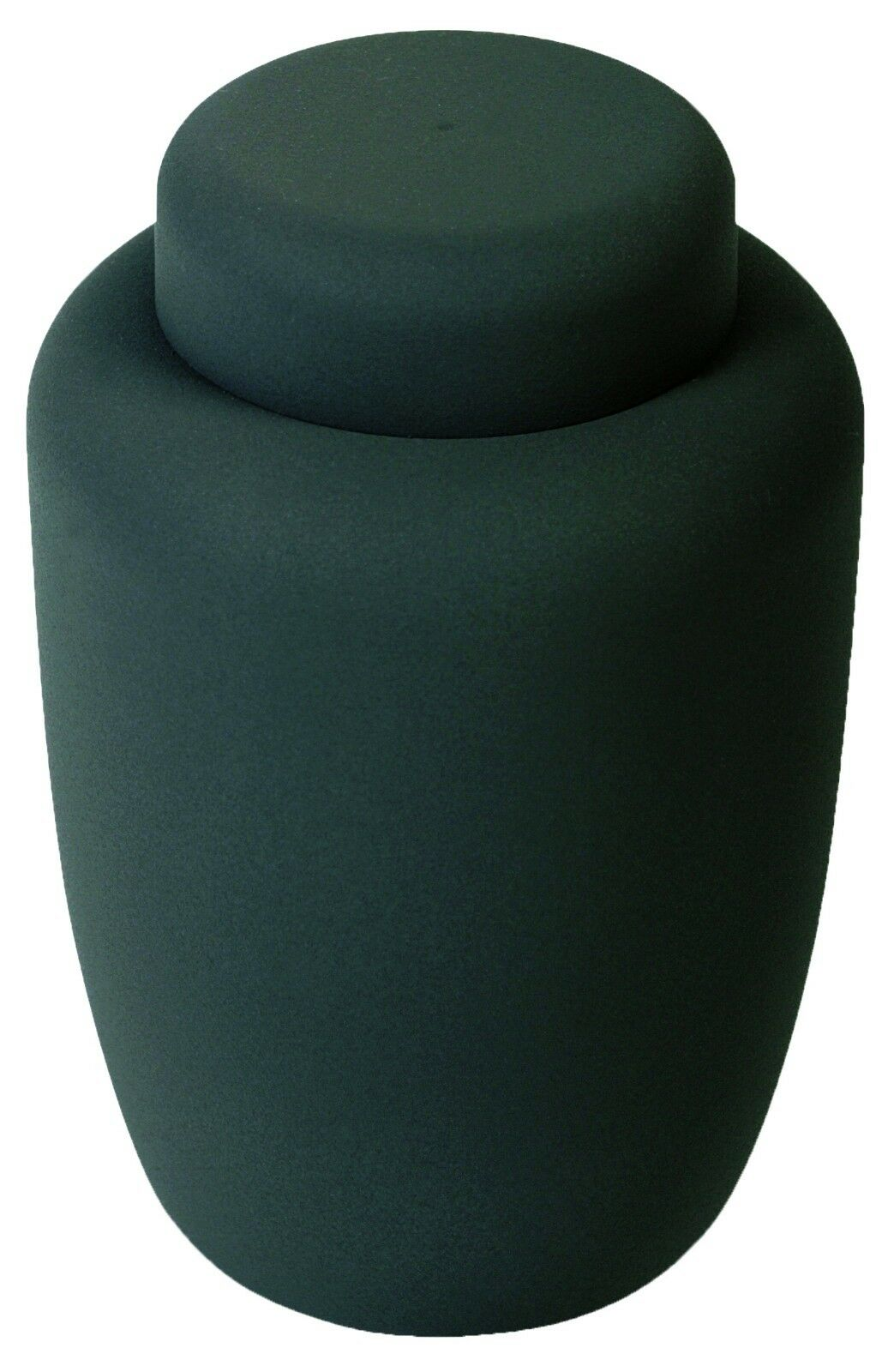Black Cornstarch 238 Cubic Inches Large/Adult Funeral Cremation Urn for Ashes