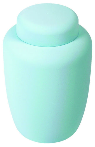 Pale Blue Cornstarch 238 Cubic Inches Large/Adult Funeral Cremation Urn