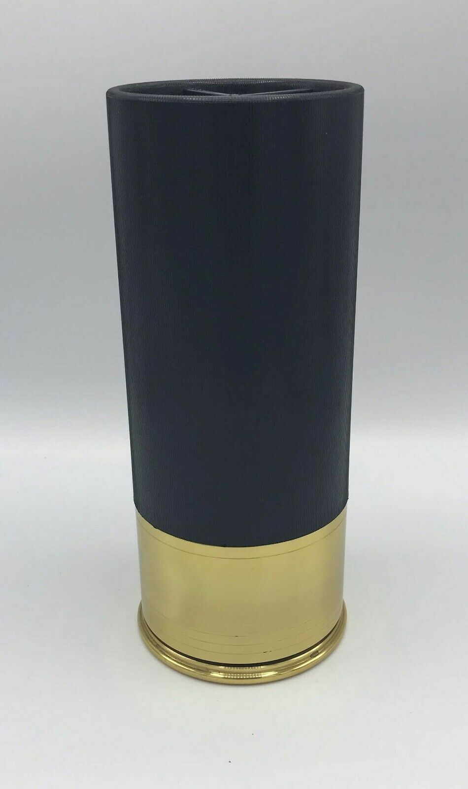 Shotgun Shell Urn Black 100 Cubic Inch Funeral Pet Cremation Urn Can Be Engraved