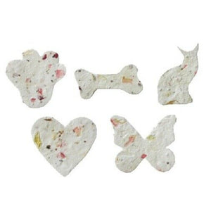 Blooming Adornment - Choice of Heart, Bone, Paw, Cat or Butterfly -10 Count
