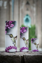 Load image into Gallery viewer, Small/Keepsake 26 Cubic Inch Hummingbird Scattering Tube Cremation Urn for Ashes